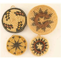 Lot of 4 Small Navajo Plaques