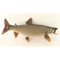 Large full mounted trout