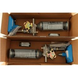 Two Dillon 550 Quick Change Cast Rollers