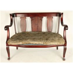 Cherry Wood Antique bench