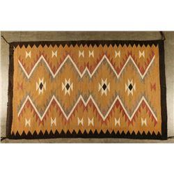 Navajo All Natural Textile Weaving