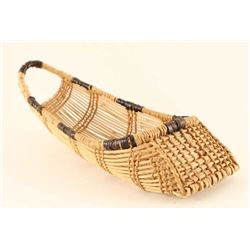 Northwest Coast Miniature Cradleboard Basket