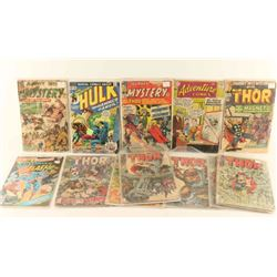 Collection of Comic Books