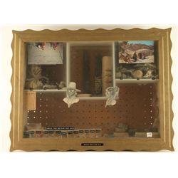 Navajo Framed Display Case