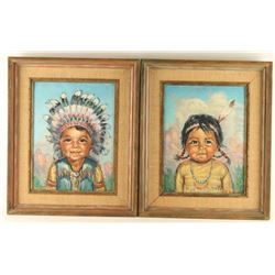 Original Oils on Canvas