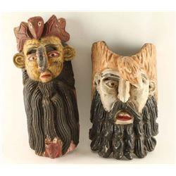 Lot of 2 Guerrero Masks