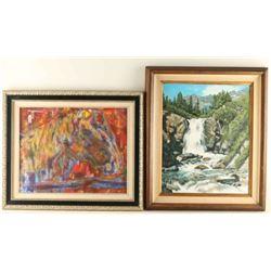 Lot of 2 Original Paintings