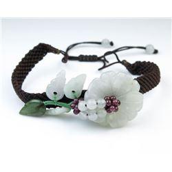Artful Flower Design Bracelet
