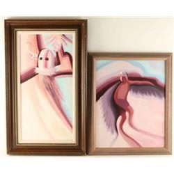 Lot of 3 Original Paintings