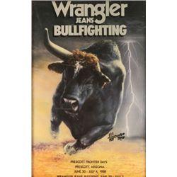 Wrangler Advertiser Poster