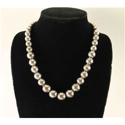 Sterling Silver Desert Pearls Hand Made Necklace