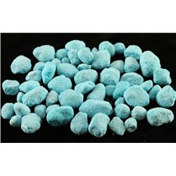 Cultured Blue Turquoise Nuggets