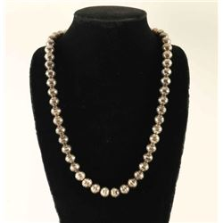Vintage Sterling Silver Desert Pearls Necklace