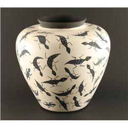 Acoma Lizard Pot
