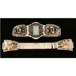 (2) Navajo Watchbands