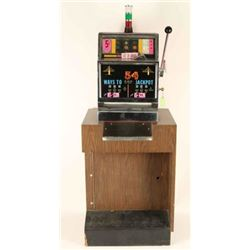 5 cent Space Jet Bell Slot Machine
