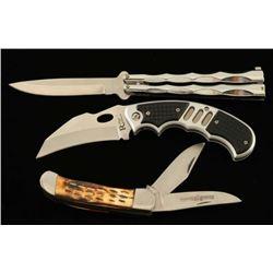 Lot of 3 Knives