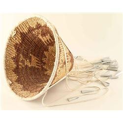 Burden Basket with Deer Design