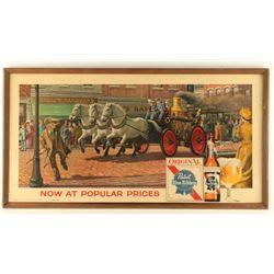 Pabst Beer Advertiser