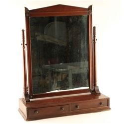 Antique Mirror Vanity Set