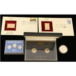 Coin & Stamp Lot