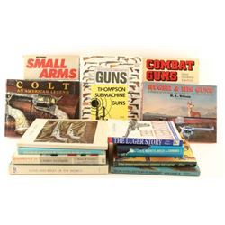 Lot of Gun Books