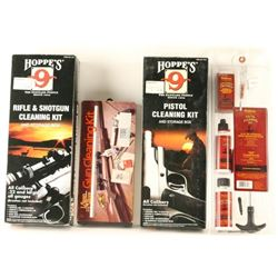 Lot of Four Gun Cleaning Kits