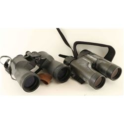 Lot of two Binoculars