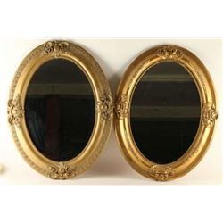 Lot of 2 Victorian Mirrors
