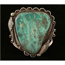 Navajo Turquoise & Silver Bracelet