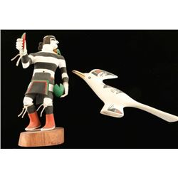 Acoma Bird and Kachina