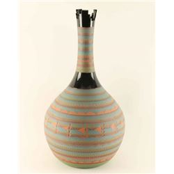 Navajo Incised Carved Vase