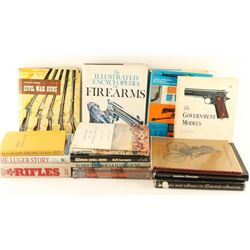 Boxed Lot of Gun Books