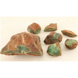 Lot of Natural Chrysoprase Stones