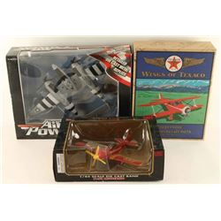 Lot of 3 Die Cast Airplanes