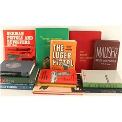 Box Lot of Military & Gun Related Books
