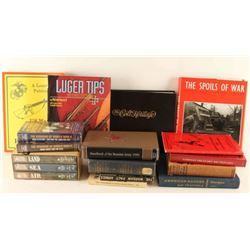 Box of Military & Gun Related Books