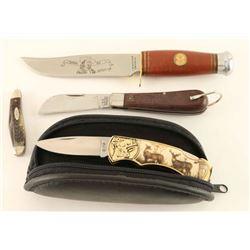 Lot of 4 Knives