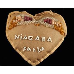 Arapaho Beaded Heart