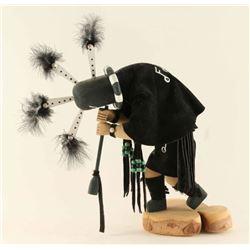 Black Kokopelli Kachina