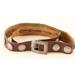 Liberty Head Nickels Leather Belt