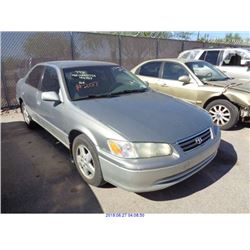 2001 - TOYOTA CAMRY // SALVAGE TITLE