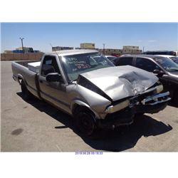 1998 - CHEVROLET S10 PICKUP