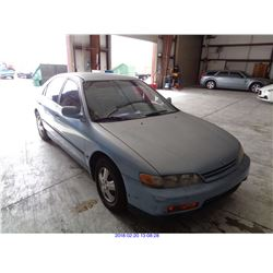 1994 - HONDA ACCORD // SALVAGE TITLE