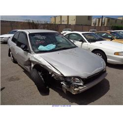 1999 - HONDA ACCORD // SALVAGE TITLE