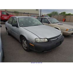 2004 - CHEVROLET CLASSIC // SALVAGE TITLE