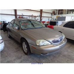 2004 - MERCURY SABLE // SALVAGE TITLE