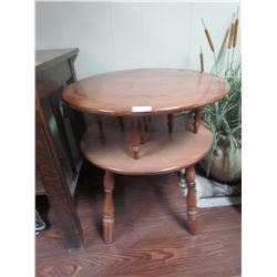 2 side tables, Valus, Canadian made