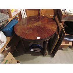 3' round antique table