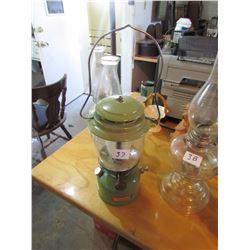 Coleman Oil Lamp